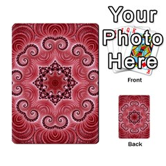 Awesome Kaleido 07 Red Multi Purpose Cards (rectangle)