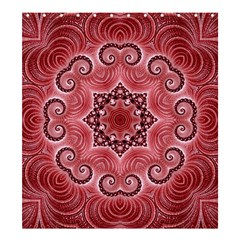 Awesome Kaleido 07 Red Shower Curtain 66  x 72  (Large)
