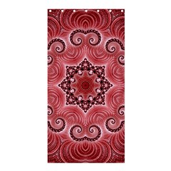 Awesome Kaleido 07 Red Shower Curtain 36  x 72  (Stall)