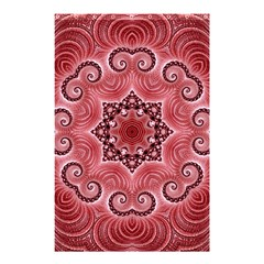 Awesome Kaleido 07 Red Shower Curtain 48  x 72  (Small)