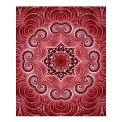 Awesome Kaleido 07 Red Shower Curtain 60  x 72  (Medium)