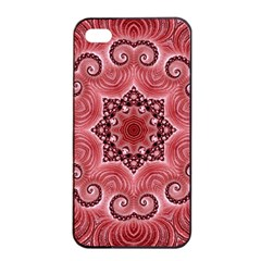 Awesome Kaleido 07 Red Apple Iphone 4/4s Seamless Case (black)