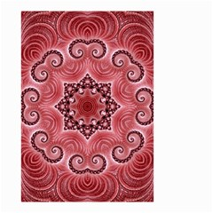 Awesome Kaleido 07 Red Small Garden Flag (Two Sides)
