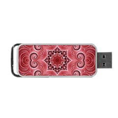 Awesome Kaleido 07 Red Portable USB Flash (One Side)