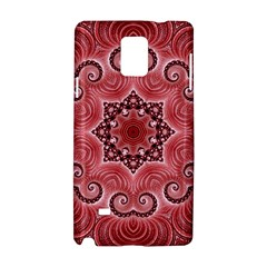 Awesome Kaleido 07 Red Samsung Galaxy Note 4 Hardshell Case