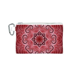 Awesome Kaleido 07 Red Canvas Cosmetic Bag (s)