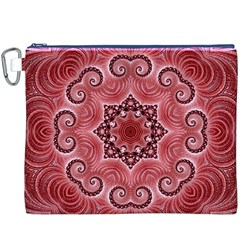 Awesome Kaleido 07 Red Canvas Cosmetic Bag (XXXL)