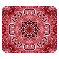 Awesome Kaleido 07 Red Double Sided Flano Blanket (Small)