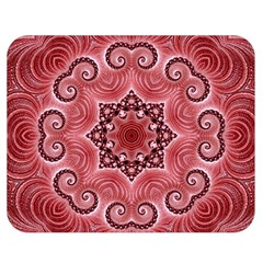 Awesome Kaleido 07 Red Double Sided Flano Blanket (medium)