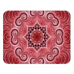 Awesome Kaleido 07 Red Double Sided Flano Blanket (large)
