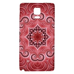 Awesome Kaleido 07 Red Galaxy Note 4 Back Case