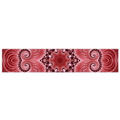 Awesome Kaleido 07 Red Flano Scarf (small)