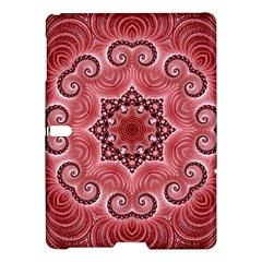 Awesome Kaleido 07 Red Samsung Galaxy Tab S (10.5 ) Hardshell Case
