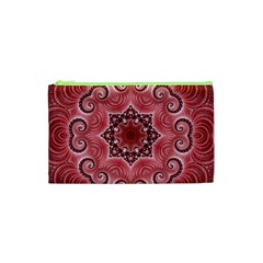 Awesome Kaleido 07 Red Cosmetic Bag (XS)