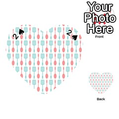 Spatula Spoon Pattern Playing Cards 54 (heart)
