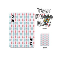 Spatula Spoon Pattern Playing Cards 54 (Mini)