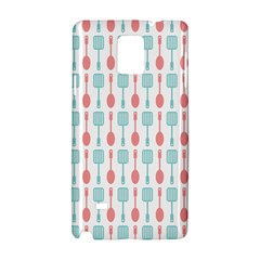 Spatula Spoon Pattern Samsung Galaxy Note 4 Hardshell Case