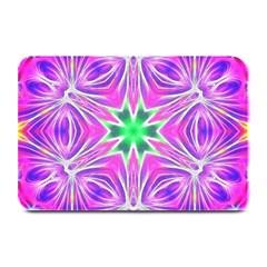 Kaleido Art, Pink Fractal Plate Mats