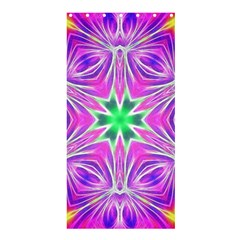 Kaleido Art, Pink Fractal Shower Curtain 36  x 72  (Stall)