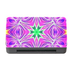 Kaleido Art, Pink Fractal Memory Card Reader with CF