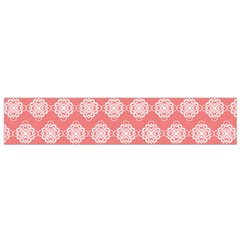 Abstract Knot Geometric Tile Pattern Flano Scarf (small)