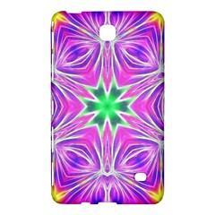 Kaleido Art, Pink Fractal Samsung Galaxy Tab 4 (8 ) Hardshell Case