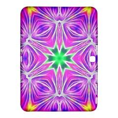 Kaleido Art, Pink Fractal Samsung Galaxy Tab 4 (10.1 ) Hardshell Case