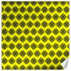 Abstract Knot Geometric Tile Pattern Canvas 20  X 20