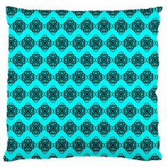 Abstract Knot Geometric Tile Pattern Standard Flano Cushion Cases (two Sides)