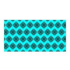 Abstract Knot Geometric Tile Pattern Satin Wrap
