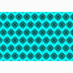 Abstract Knot Geometric Tile Pattern Collage 12  X 18