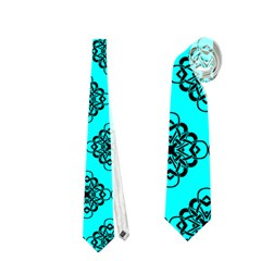 Abstract Knot Geometric Tile Pattern Neckties (One Side)