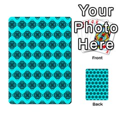 Abstract Knot Geometric Tile Pattern Multi Purpose Cards (rectangle)
