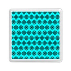 Abstract Knot Geometric Tile Pattern Memory Card Reader (Square)