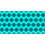 Abstract Knot Geometric Tile Pattern YOU ARE INVITED 3D Greeting Card (8x4)  Back