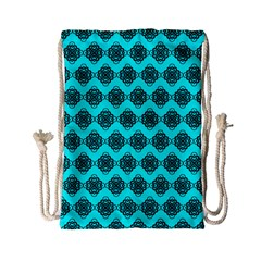 Abstract Knot Geometric Tile Pattern Drawstring Bag (Small)