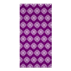 Abstract Knot Geometric Tile Pattern Shower Curtain 36  x 72  (Stall)