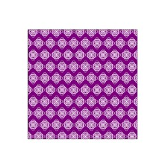 Abstract Knot Geometric Tile Pattern Satin Bandana Scarf