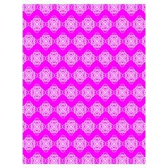Abstract Knot Geometric Tile Pattern Drawstring Bag (Large)