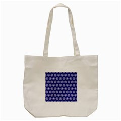 Abstract Knot Geometric Tile Pattern Tote Bag (Cream)
