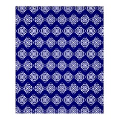 Abstract Knot Geometric Tile Pattern Shower Curtain 60  x 72  (Medium)