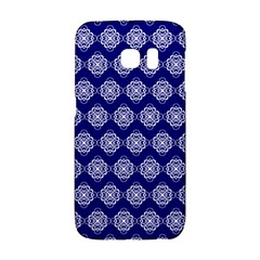 Abstract Knot Geometric Tile Pattern Galaxy S6 Edge