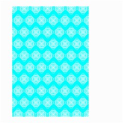Abstract Knot Geometric Tile Pattern Small Garden Flag (Two Sides)