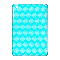 Abstract Knot Geometric Tile Pattern Apple Ipad Mini Hardshell Case (compatible With Smart Cover)