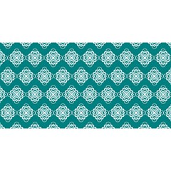 Abstract Knot Geometric Tile Pattern YOU ARE INVITED 3D Greeting Card (8x4)