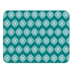 Abstract Knot Geometric Tile Pattern Double Sided Flano Blanket (Large)