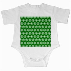 Abstract Knot Geometric Tile Pattern Infant Creepers