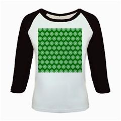 Abstract Knot Geometric Tile Pattern Kids Baseball Jerseys