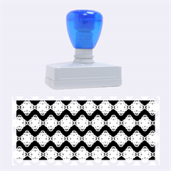 Abstract Knot Geometric Tile Pattern Rubber Stamps (large)