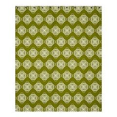Abstract Knot Geometric Tile Pattern Shower Curtain 60  x 72  (Medium)
